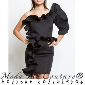 HOLIDAY COLLECTION - Glamour Girl Black Dress